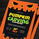 Pumpkin Carving Contest Flyer - GraphicRiver Item for Sale