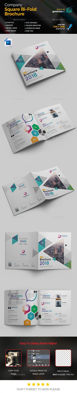 GraphicRiver Square Bi-Fold Template 20669685