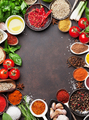Various spices and herbs