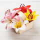 Colorful lily flowers basket - PhotoDune Item for Sale