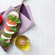 Caprese salad. Mozzarella, tomatoes and basil - PhotoDune Item for Sale
