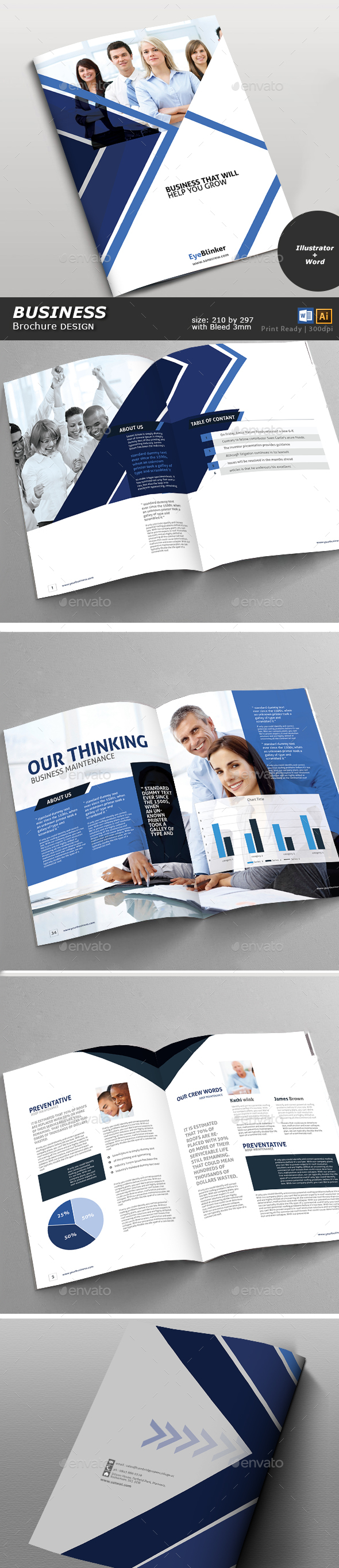 GraphicRiver Business Brochure 20670166