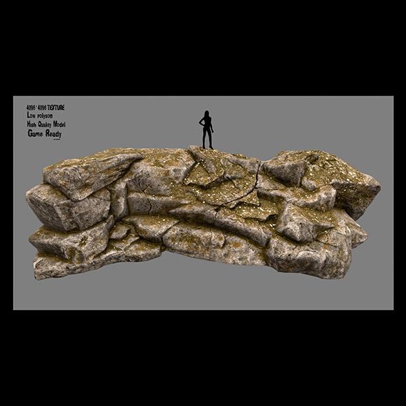 rock 2 - 3DOcean Item for Sale