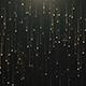 Gold Particles Rain