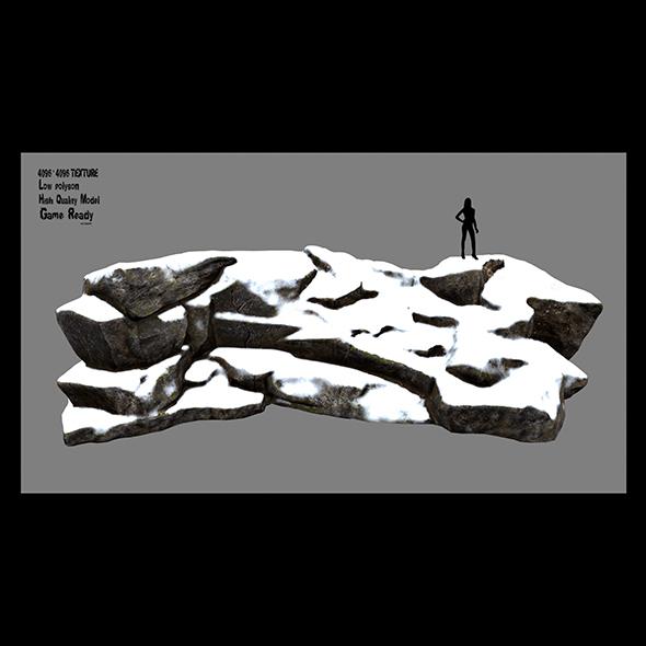 rock 3 - 3DOcean Item for Sale