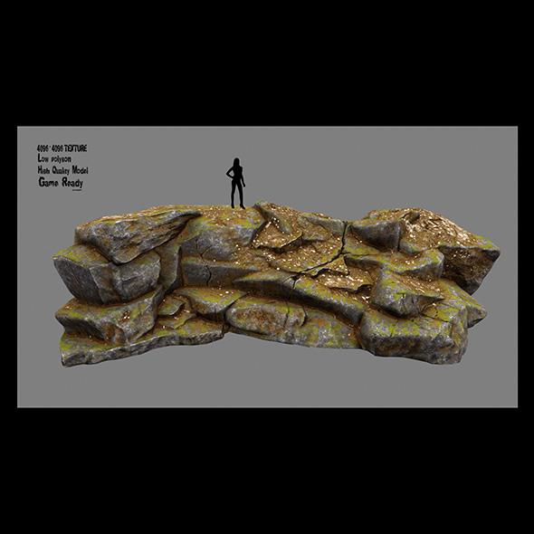 3DOcean rock 4 20670276