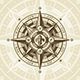 Vintage Nautical Wind Rose - GraphicRiver Item for Sale