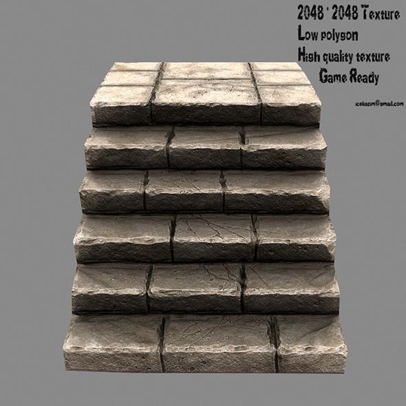 Stairway 4 - 3DOcean Item for Sale