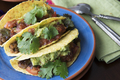 Three Vegan Tacos