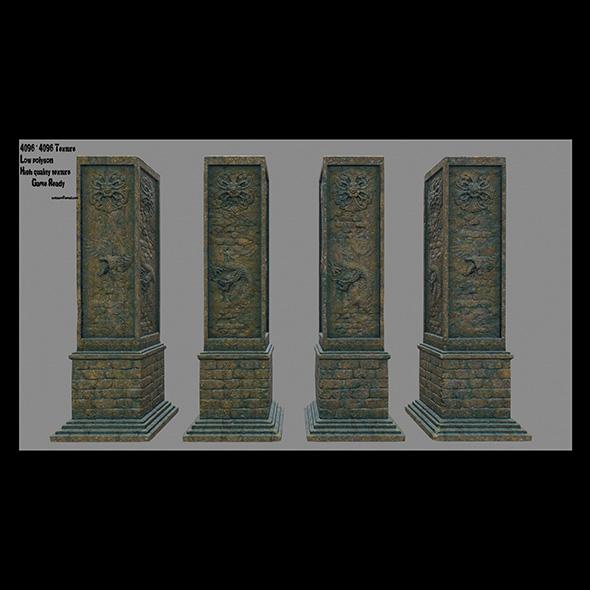 3DOcean pillar 11 20670540