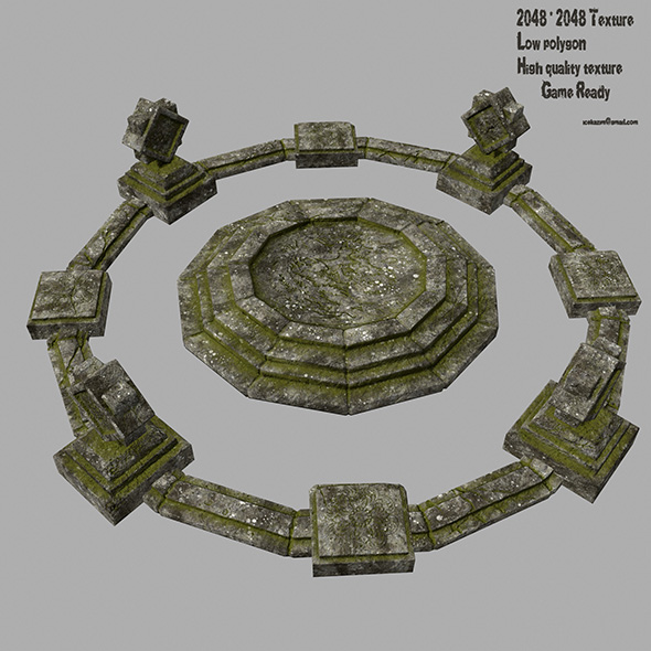 temple - 3DOcean Item for Sale