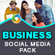 Business Social Media Pack - GraphicRiver Item for Sale