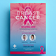 Breast Cancer Charity Flyer 02 - GraphicRiver Item for Sale