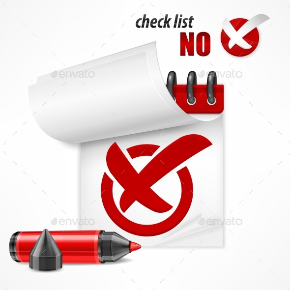 GraphicRiver Checkmark on Checklist 20671058