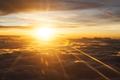 Orange Sunrise Betwen Clouds - PhotoDune Item for Sale