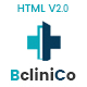 Bclinico - Health & Medical  HTML Template