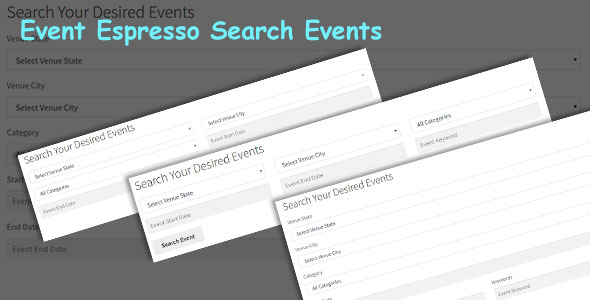 EE4 Event Search Form - CodeCanyon Item for Sale