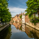 Bruges (Brugge) cityscape with water canal - PhotoDune Item for Sale
