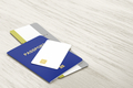 Passport, bank card and boarding pass - PhotoDune Item for Sale