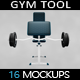 Gym Tool MockUP - GraphicRiver Item for Sale