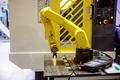Robotic Arm modern industrial technology.