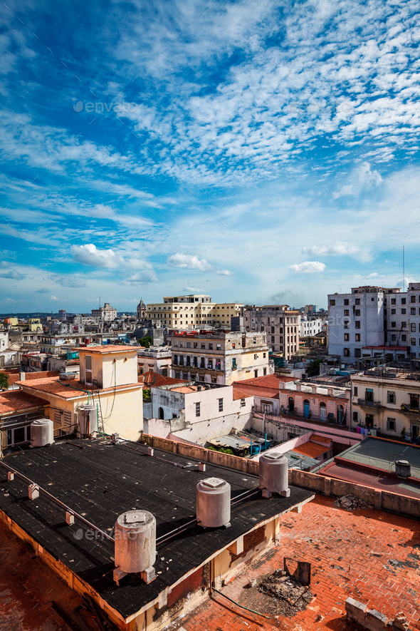 Old Havana - Stock Photo - Images