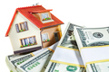 house on packs of banknotes - PhotoDune Item for Sale