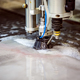 CNC water jet cutting machine - PhotoDune Item for Sale