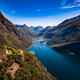 Geiranger fjord, Norway. - PhotoDune Item for Sale