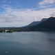Drone - Annecy Lake with Boats - VideoHive Item for Sale