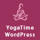 Yoga Time - Responsive WordPress Theme