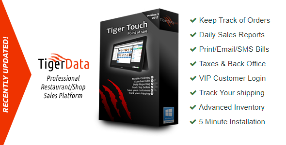 Touch POS (Point of Sale) with PHP MySQL HTML CSS & jQuery - CodeCanyon Item for Sale