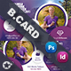 Healthy Life Business Card Templates - GraphicRiver Item for Sale