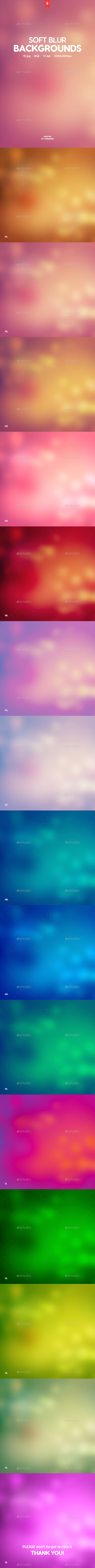 Soft Blur Backgrounds - Backgrounds Graphics