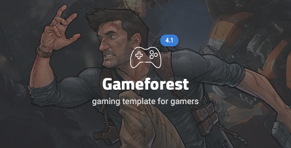 Game Forest - Gaming Theme HTML