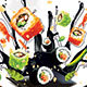 Sushi Menu - GraphicRiver Item for Sale