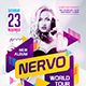 Guest DJ Party Flyer vol.18 - GraphicRiver Item for Sale