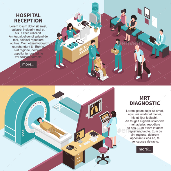 GraphicRiver Hospital Banners Set 20672971