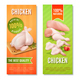 Chicken Meat Vertical Banners