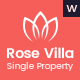 Rose Villa - Single Property, Real estate WordPress Theme - ThemeForest Item for Sale