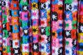 Silk Vietnamese scarf background