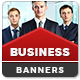 Business Services Banners - GraphicRiver Item for Sale