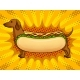 Hot Dog Metaphor Pop Art Vector - GraphicRiver Item for Sale