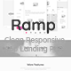 Ramp - Clean Responsive App Landing Page - ThemeForest Item for Sale