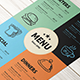 Vintage Restaurant Menu - GraphicRiver Item for Sale