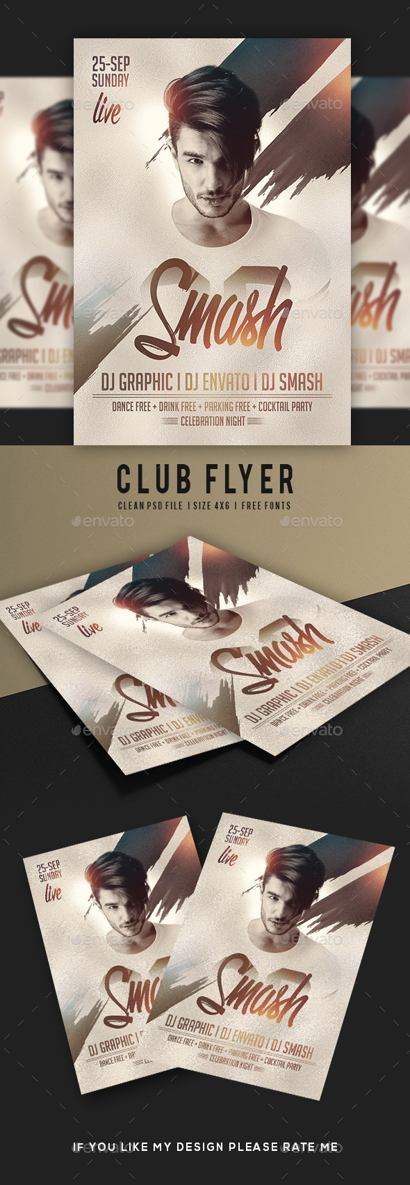 GraphicRiver DJ Flyer 20674096