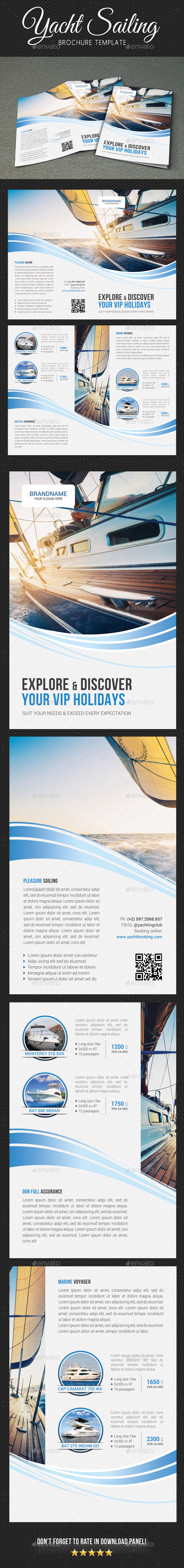 GraphicRiver Yachting Brochure 3 20674185