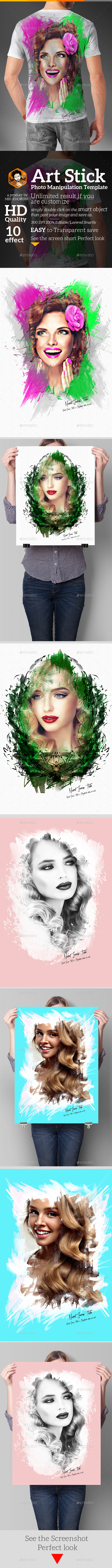 GraphicRiver Artistic Photo Manipulation Template 20674197