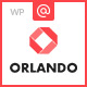 Orlando - Creative Infographics WordPress Theme