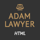 Adam Lawyer - Attorney & Lawyer Bootstrap Parallax Retina HTML5 Template - ThemeForest Item for Sale